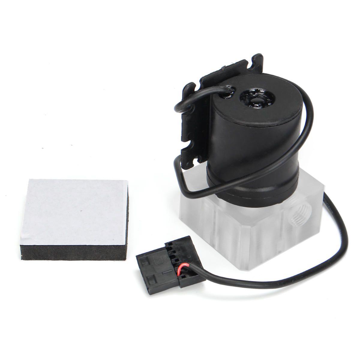 Pc Water Cooling Kit 240mm Radiator Pump Reservoir Cpu Block Rigid