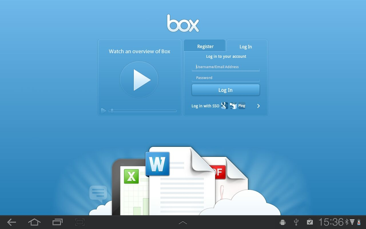 Box (Android tablet) getap.ps/+100031575 Web