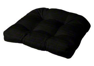 tufted chair cushion rounded back corners 21 x 19 x 4 cushion source rh pinterest com