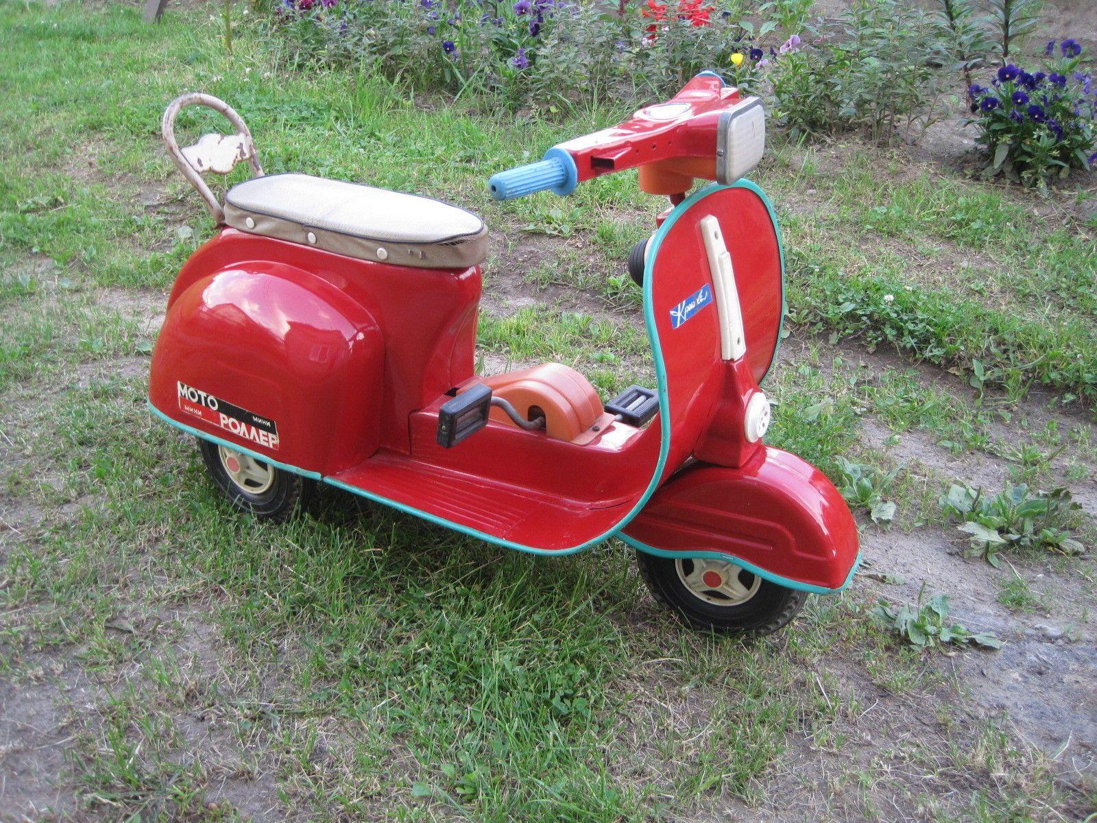 Scooter pedal the USSR car original , Russian Vespa Soviet