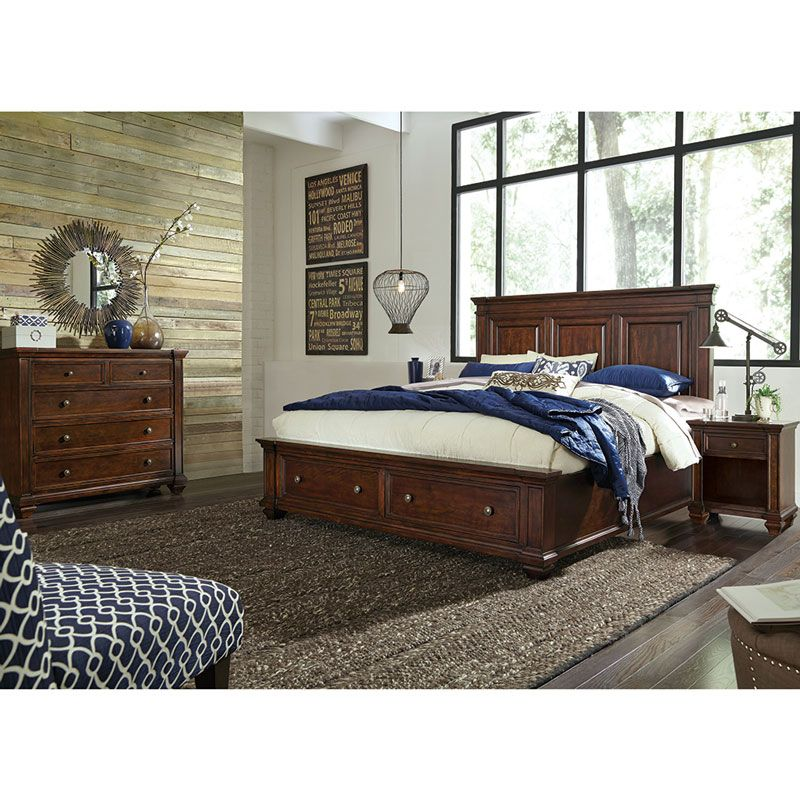 Gladston 4 Piece King Bedroom Collection   Costco UK