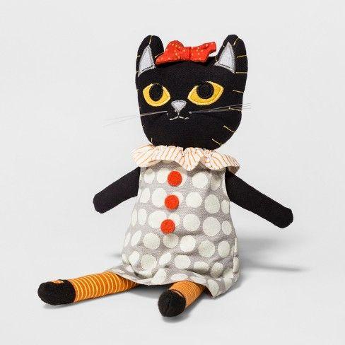 Halloween Black Cat Soft Decor - Hyde and Eek! Boutique™  Target