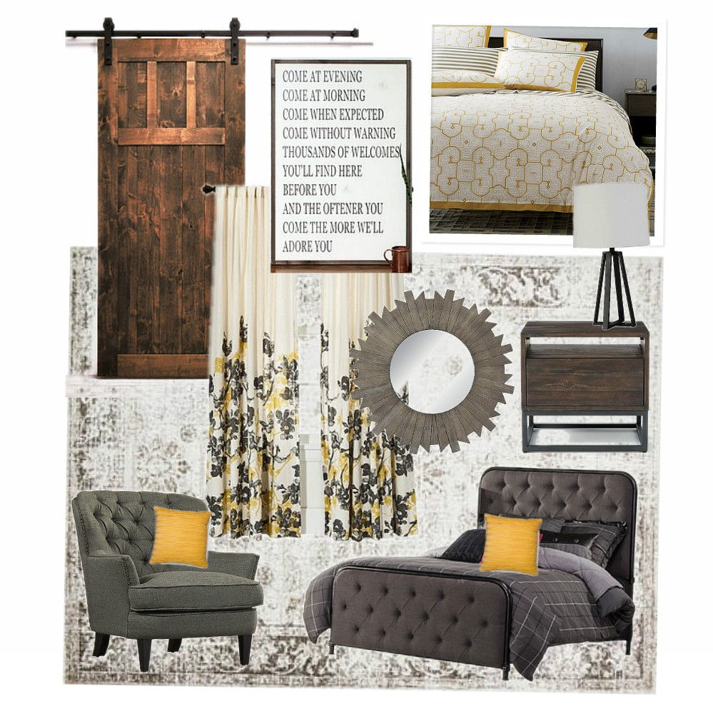 Gray Bedroom Mood : How to make a mood board bedroom modern gray