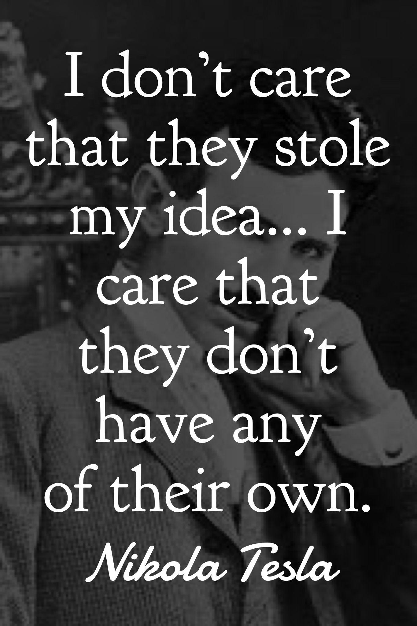 Tesla Quote Tesla quotes, Nikola tesla quotes, Nikola tesla