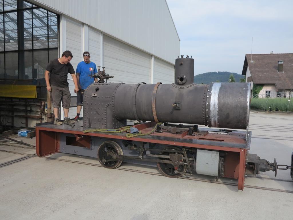 Dampfbetrieb auf 600mm von Mitte April - Mitte Oktober | Verein Schinznacher…