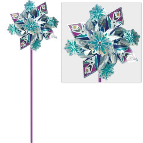 Frozen Pinwheel 15 1/2in - Party City Frozen Pinterest - frozen halloween decorations