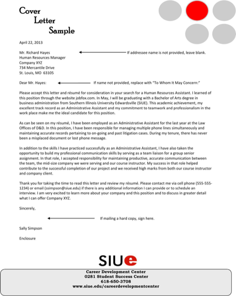 Cover Letter Sample  TemplatesForms    Cover Letter