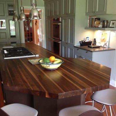 Dark Butcher Block Kitchen Island : black walnut butcher block island Kitchen design, Kitchen remodel, Kitchen furniture