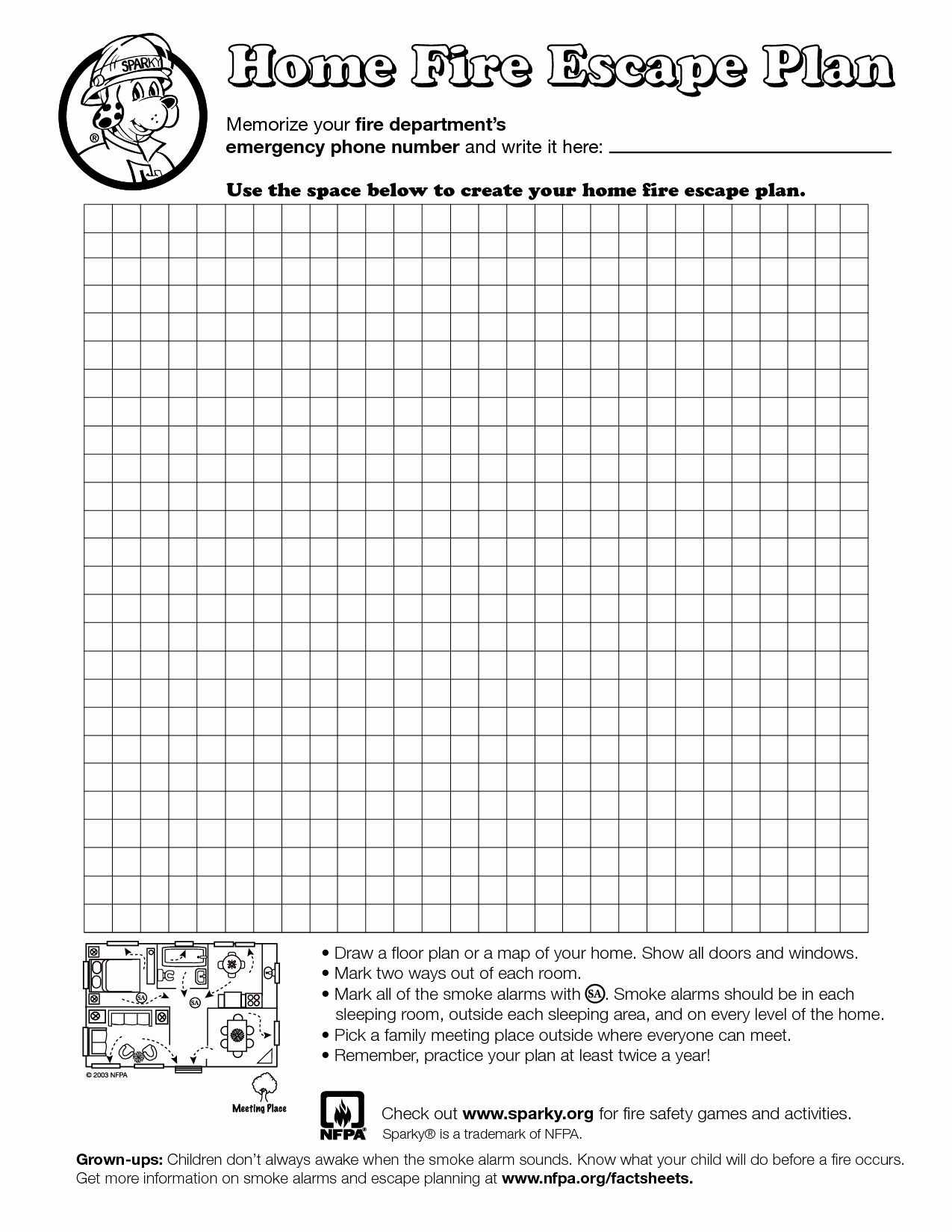 Fire Escape Plan Template Awesome Home Fire Escape Plan Template Education Fire Escape Plan Evacuation Plan Emergency Plan Printable fire escape plan template