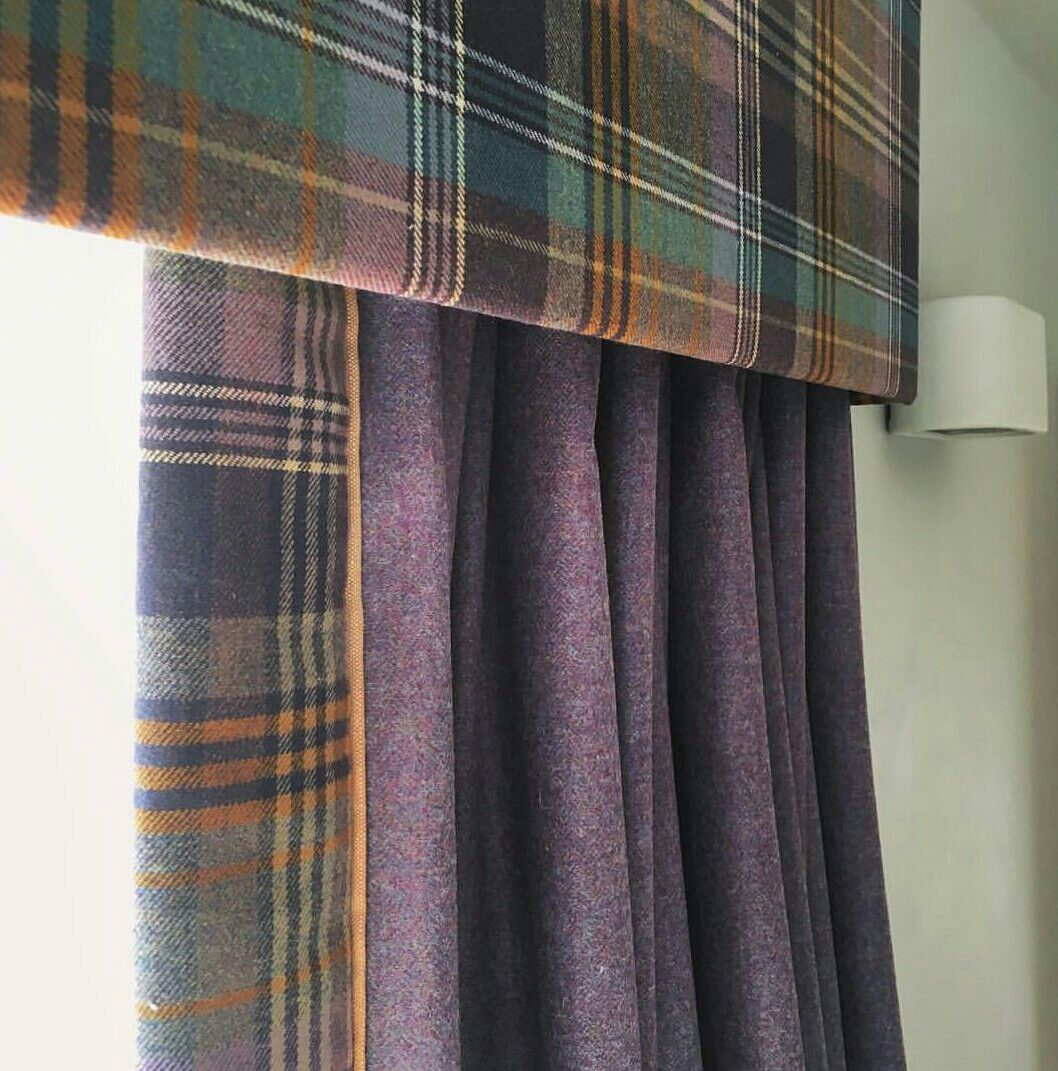 Contemporary Curtains, Tartan