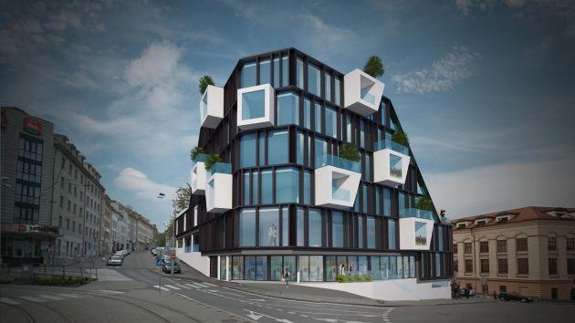 CGarchitect - Professional 3D Architectural Visualization User Community | Mixed Use Bratislava