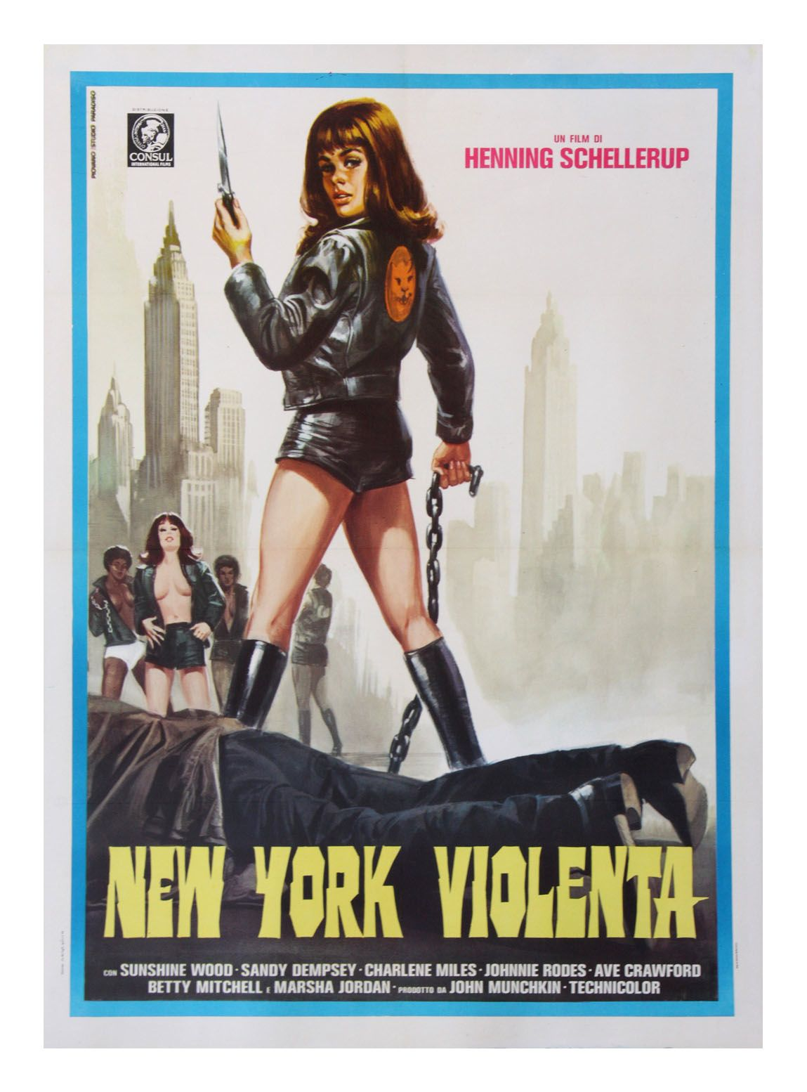 New York Violenta (US: The Black Alley Cats) #film #poster (1973)