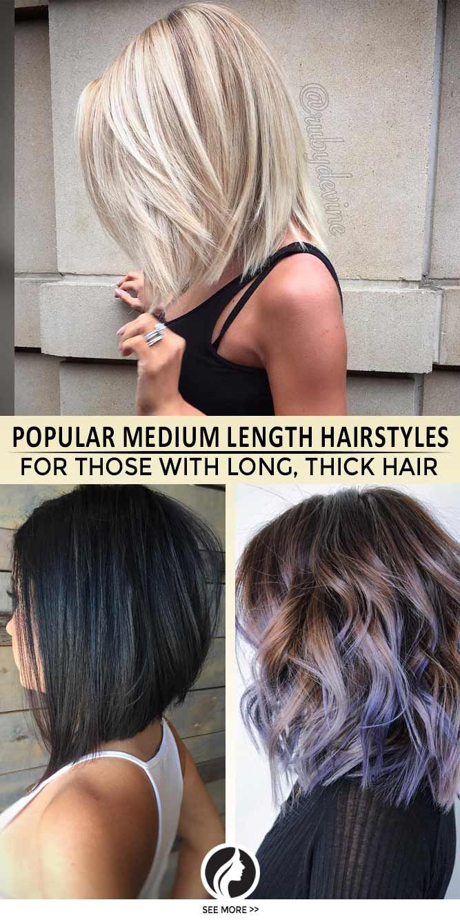 superb medium length hairstyles for an amazing look pinterest