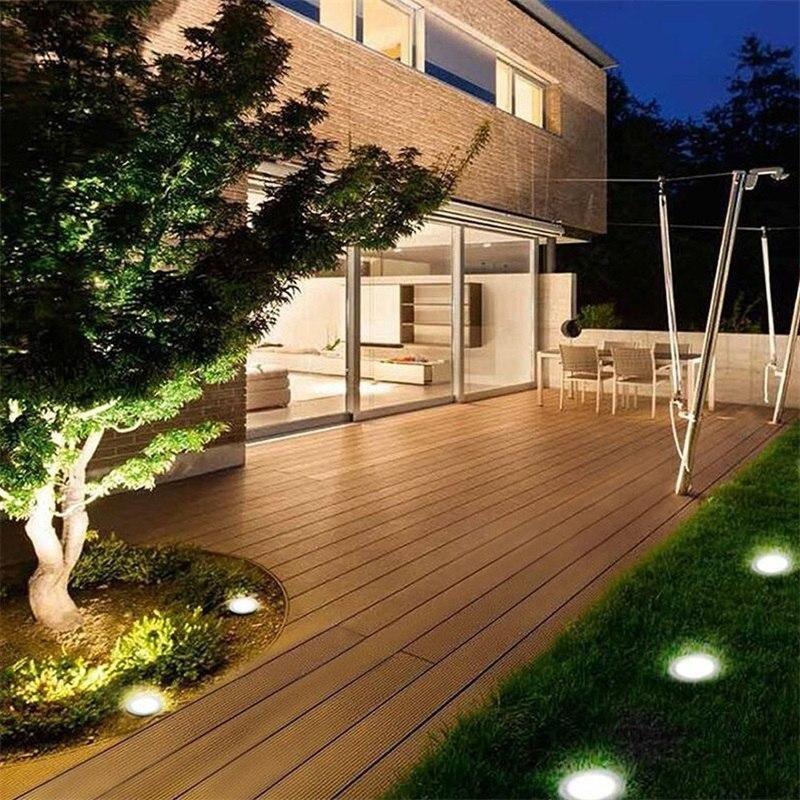 Lumijardin 4 Spots Lumineux A Energie Solaire Amenagement Jardin Terrasse Piscine Amenagement Jardin Amenager Petit Jardin