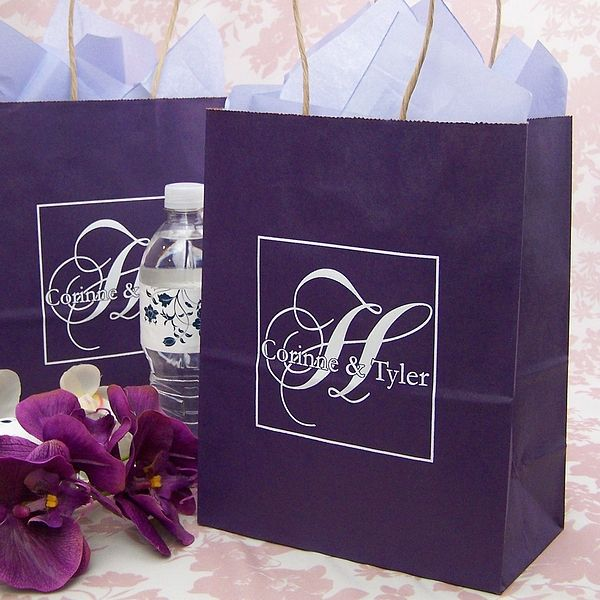 Wedding Welcome Gift Bags Are The Perfect Way To Say A Special Thank You Out