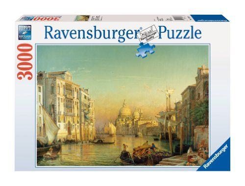 Ravensburger Grand Canal In Venice 3000 Piece Puzzle Grand Canal Grand Canal Venice Ravensburger