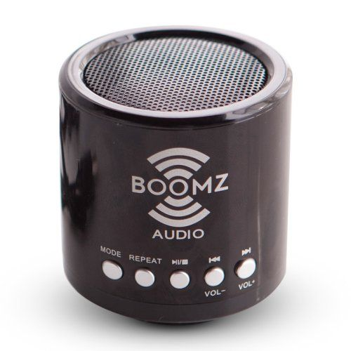 Find it at the Foundary - BOOMZ Big Brother Blue Black Micro SD Bluetooth Speaker