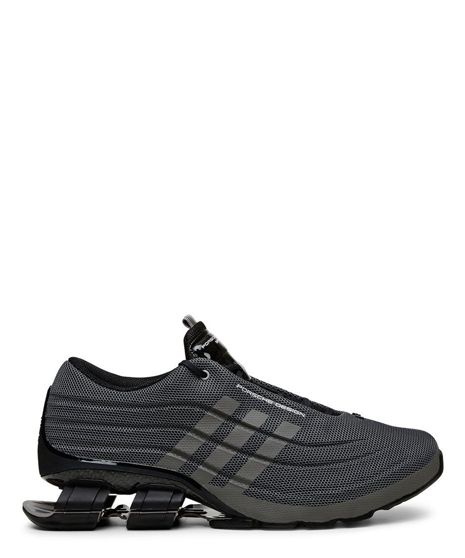 444ef4b7b5093 Adidas x Porsche Design Sport Grey and Black Bounce S4 Low top  Runner-SS15Y3AD37 - Sneakerboy