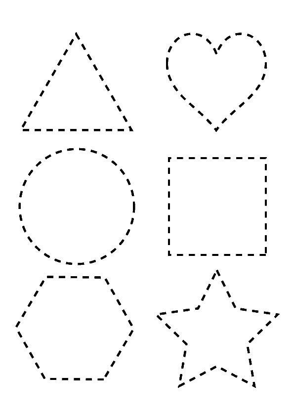 figuras-geometricas-para-repasar-y-colorear | Ideas para organizar ...