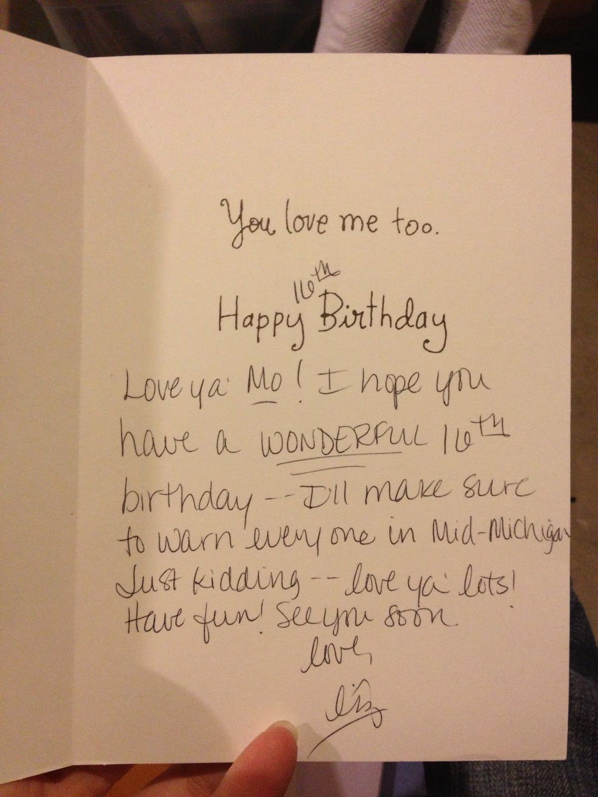 Birthday Card For Ex Boyfriend