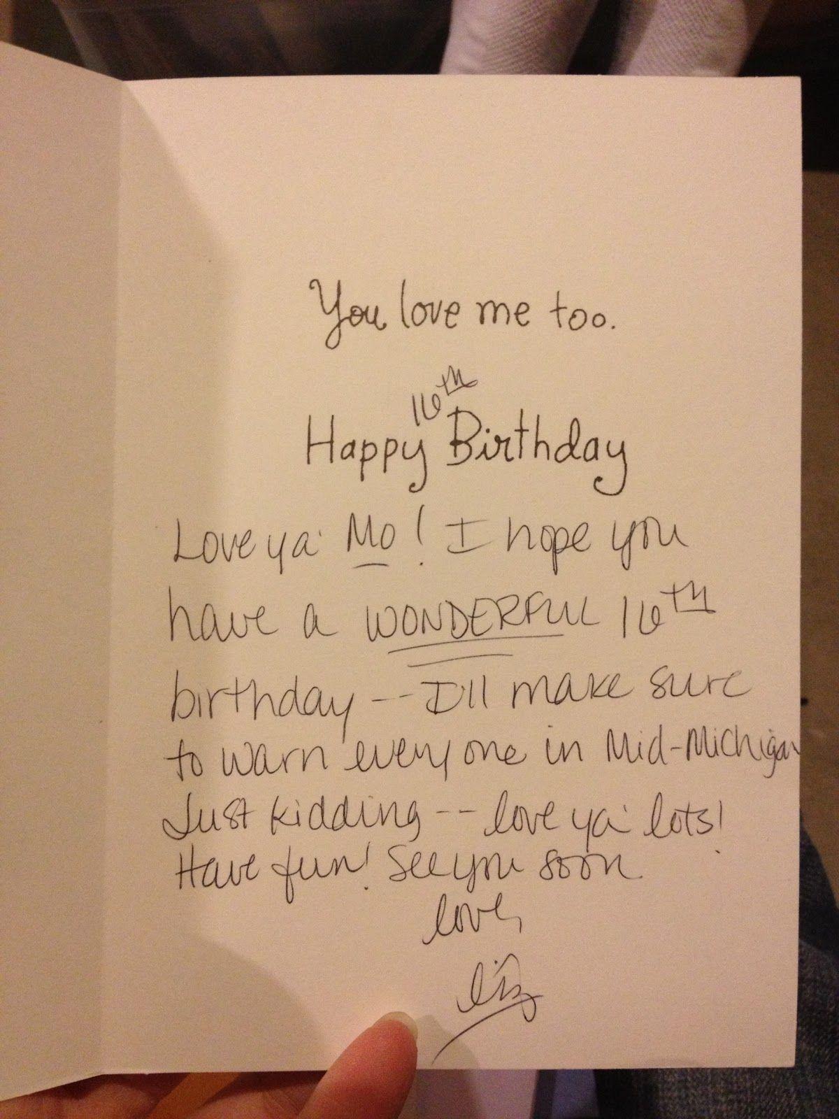 Birthday Card For Ex Boyfriend