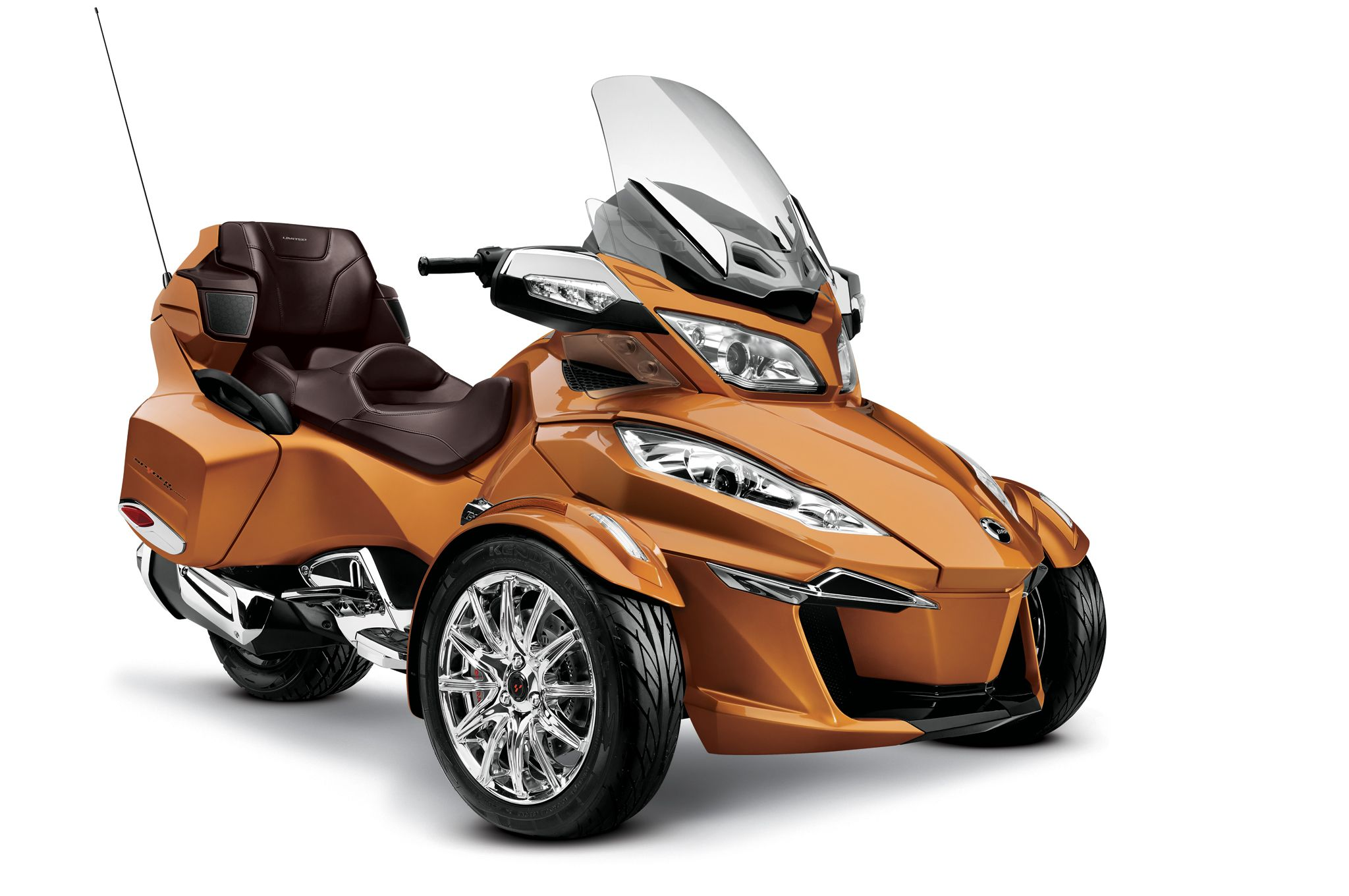 2014 can am spyder rt limited orange photo 18