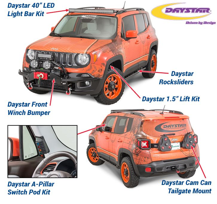 Daystar Jeep Renegade Products Jeep Renegade Jeep Renegade