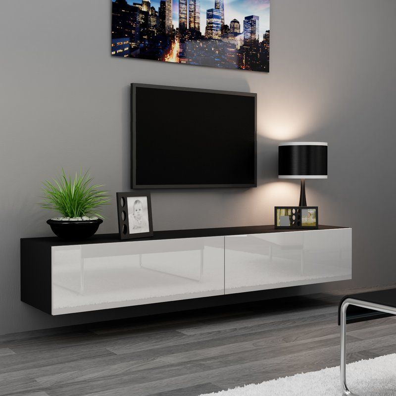 Birte 70 9 Tv Stand Modern Tv Wall Units Living Room Designs