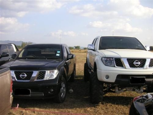 "nissan navara d40 4x4 7"" inch heavy duty suspension lift kit"
