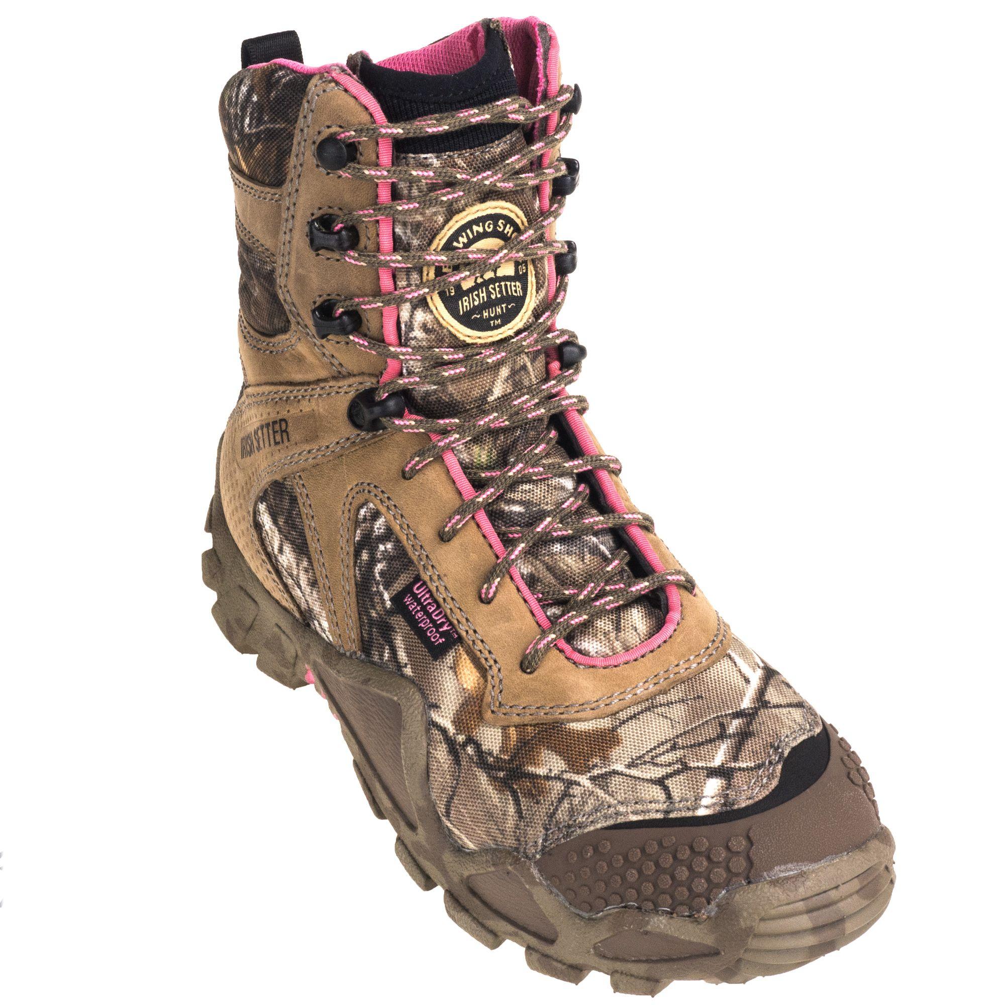 7c8bcf4e8ef Irish Setter Boots Women's 2862 Waterproof 8-Inch Hunting Camo ...