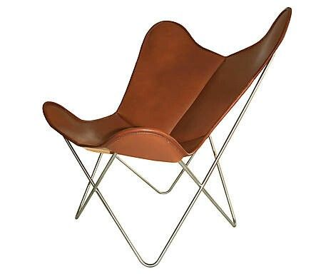 Awesome BUTTERFLY CHAIR, LEDER, TABAK VON WEINBAUM By Westwing.de Amazing Pictures