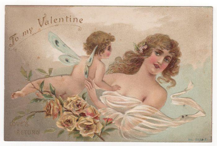 Nude valentine e-cards
