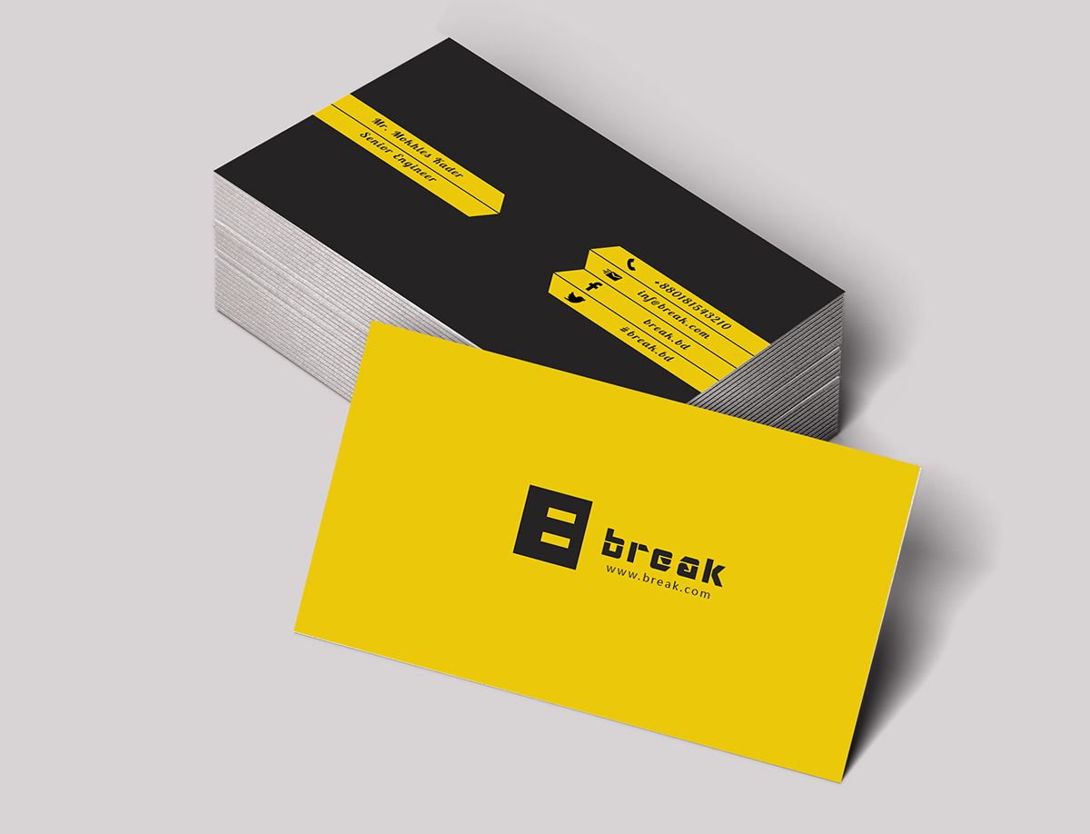 Visiting Card Civil Engineer On Behance  Visiting Cards