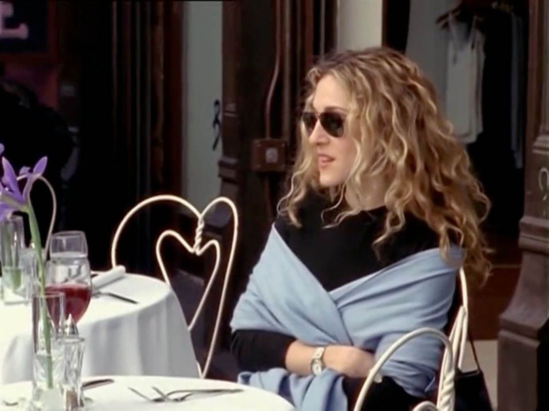 Carrie Bradshaw Carrie Bradshaw Cashmere Pashmina Cashmere And Carrie Bradshaw