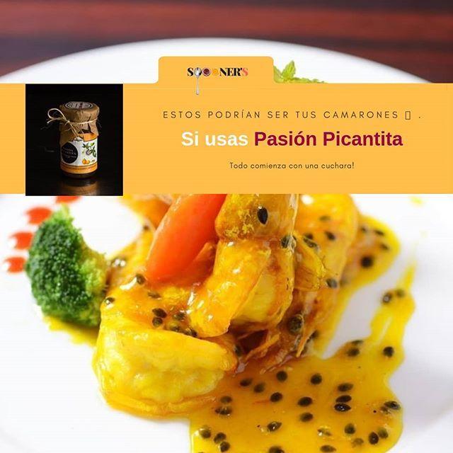 Pasión Picantita es espectacular sobre lo que sea. Pruebala por ejemplo sobre tus mariscos  Pasión Picantita es espectacular sobre lo que sea. Pruebala por ejemplo sobre tus mariscos favoritos. Será un must de tu cocina. Todo comienza con una cuchara  . . . . . #l4like #foodporn #foodie #instag #healthyfood #foodlover #foodstagram #instagram #healthylifestyle #healthy #fruit #fruitart #breakfast #delight #Honduras #delicious #delifood #delicuisine #natural #glutenfree #cuisine #entrepreneur #ins