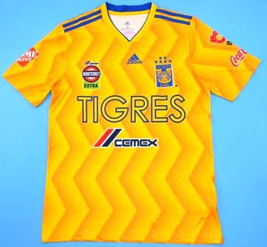 Tigres UANL Monterrey soccer jersey 2018-2019 6 stars  a3680669f