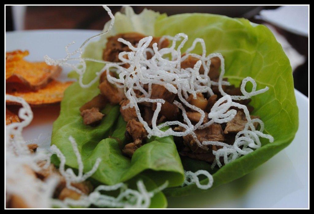 Chicken Lettuce Wraps {Money Matters} Chicken lettuce