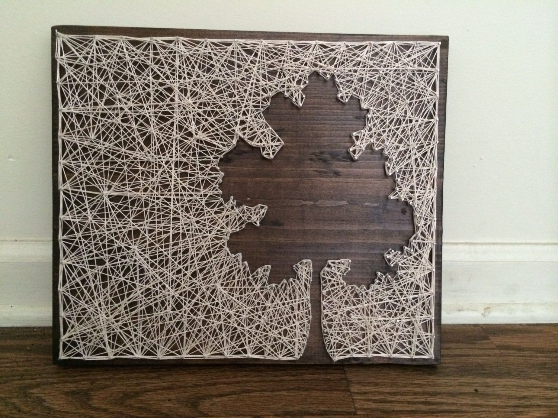 String Wall Art string art tutorial - cerca con google | diy inspirations