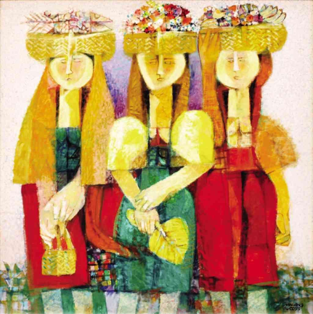 Tres Marias By Mauro Malang Santos 1928 Filipino Art Philippine Art Art