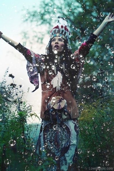Wild and free summer girl water outdoors trees hipster