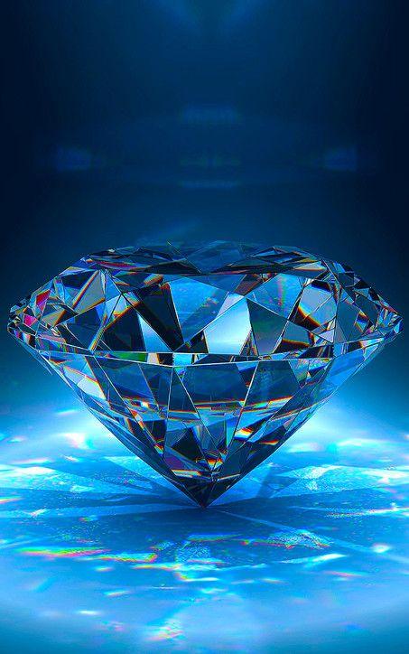 Blue Diamond Bright Wallpaper For Iphone Bright Wallpaper Diamond Wallpaper Iphone Diamond Wallpaper
