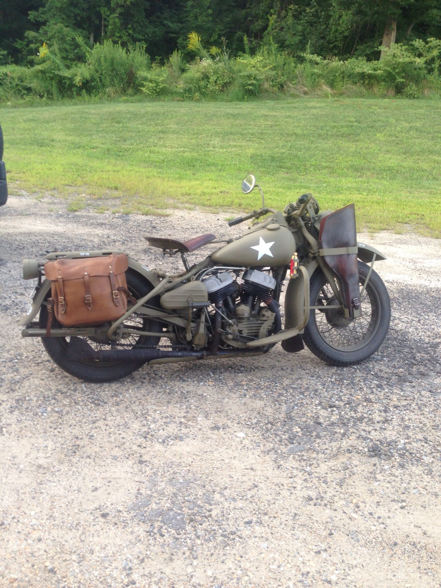 1942 Original Harley Davidson Army Bike Army Motorcycle Harley Davidson Engines Harley Davidson Wla
