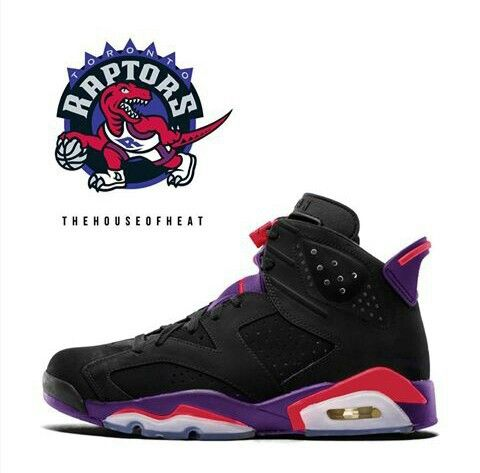 best sneakers ba3cb ed349 Air Jordan (Retro) 6 Raptors