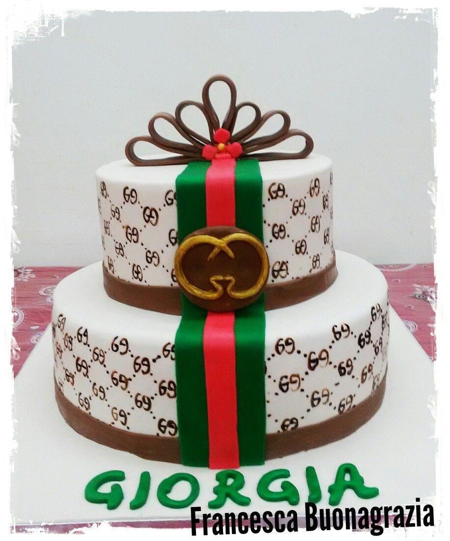 Torta compleanno Gucci