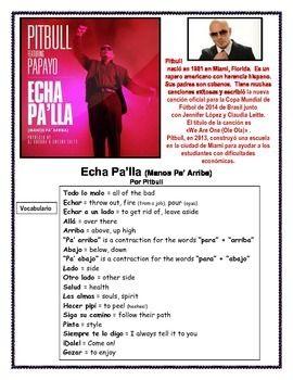 Hispanic Heritage Month Pitbull Song Hispanic Heritage Month Hispanic Heritage Pitbull Songs