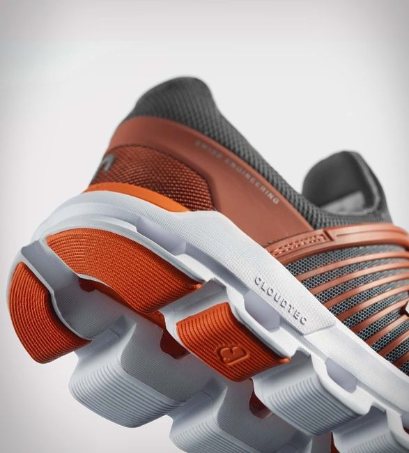 On Cloudswift Running Shoe is part of Shoes - For their new running shoe The Cloudswift, On Running have taken their famous energy returning midsole and upgraded it with Helion technology, proven to increase your energy return per stride while lowering your heart rate on difficult runs  Top that