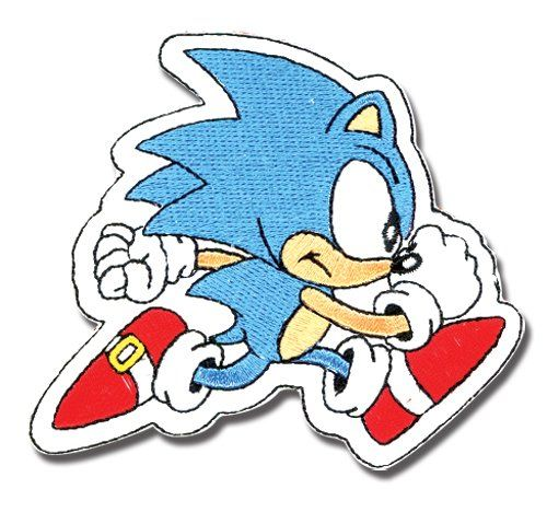 Sonic The Hedgehog Classic Running Patch Sonic The Hedgehog Http Www Amazon Com Dp B003z05wtg Ref Cm Sw R Pi Dp 8y Sonic The Hedgehog Sonic Game Room Design