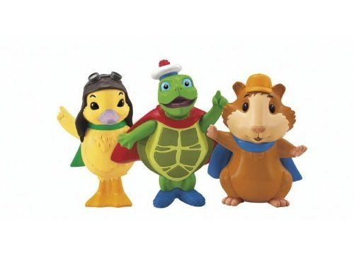 Fisher Price Wonder Pets Schoolhouse Heroes Figure Pack By Fisher