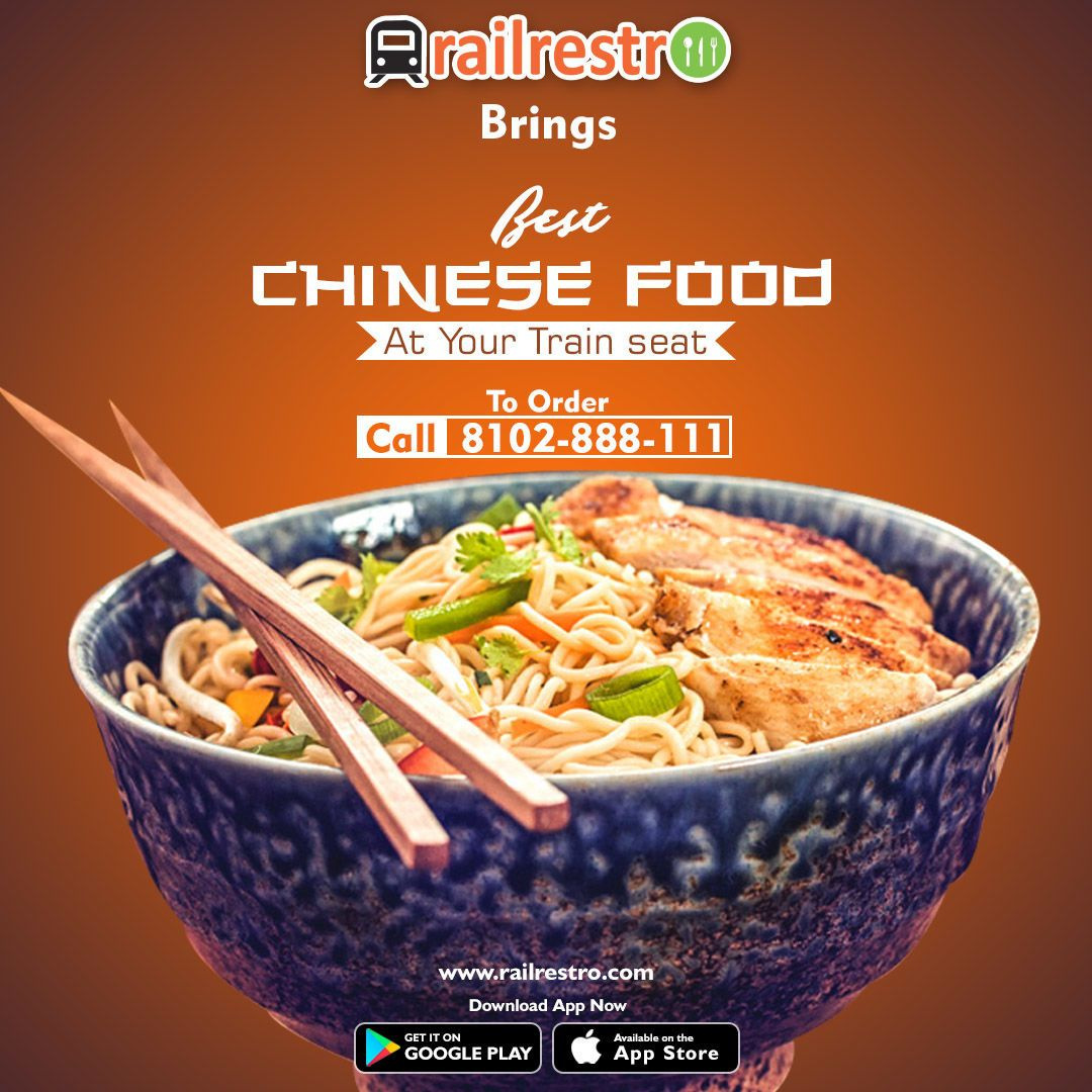 Wowwednesday Chinese Bowls And Combos Now Available In Train Via Railrestro App To Order Call 8102 888 111 Or Visit Www R Food Best Chinese Food Order Food