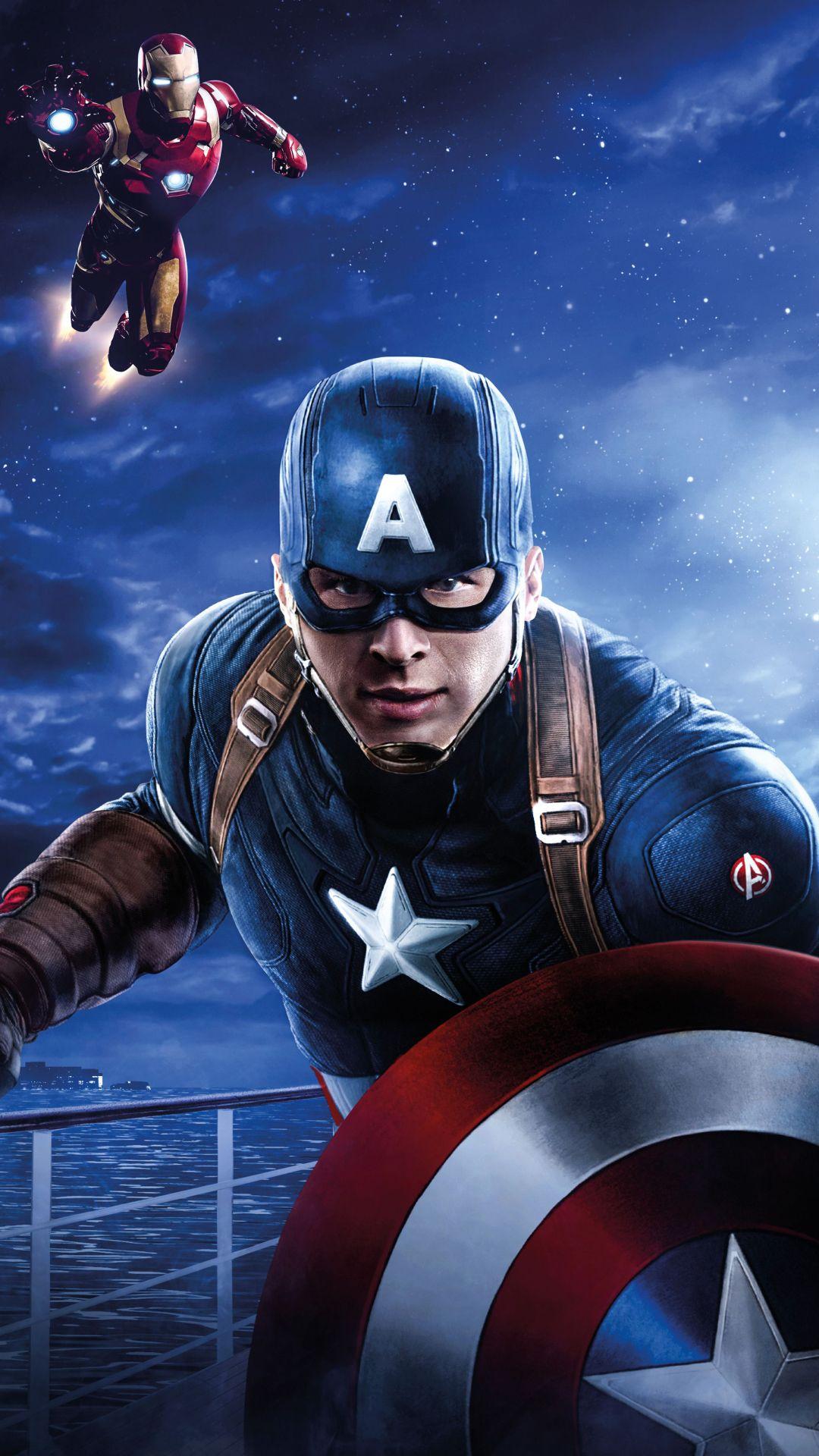 Comics Avengers 1080x1920 Mobile Wallpaper Marvel Superheroes Captain America Wallpaper Marvel